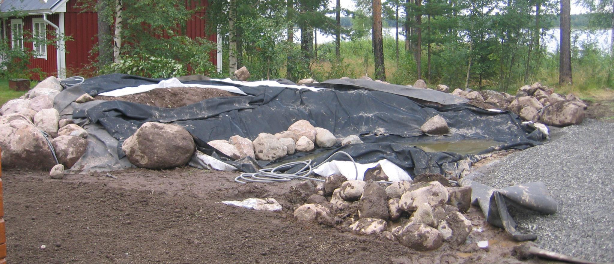 Anläggning av trädgård i Luleå